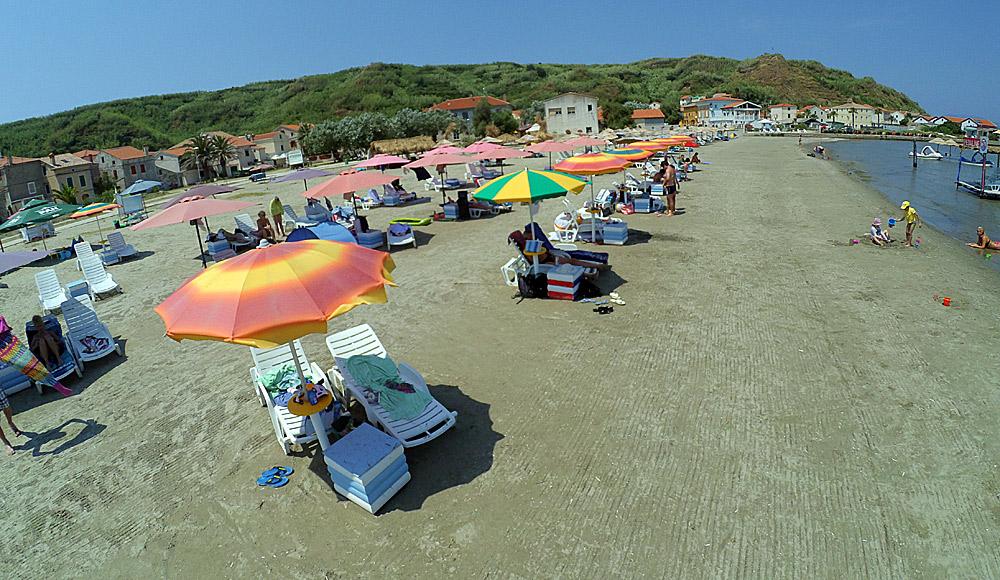 Peščana plaža na ostrvu Susak