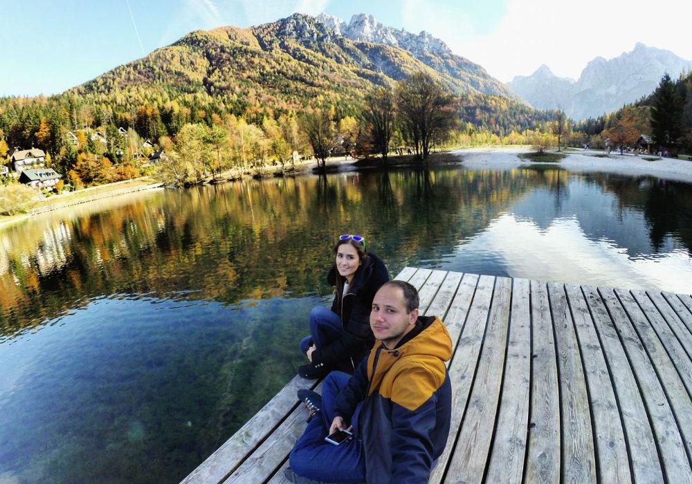 Mol na jezeru